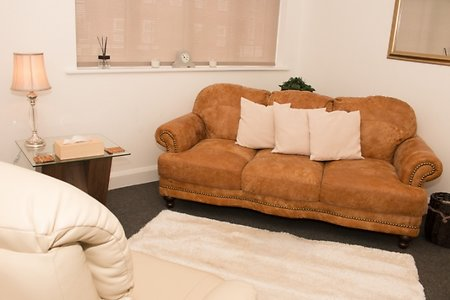 Location / Fees. Large Counselling Room